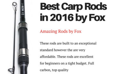 Best Carp Rods 2016 by Fox