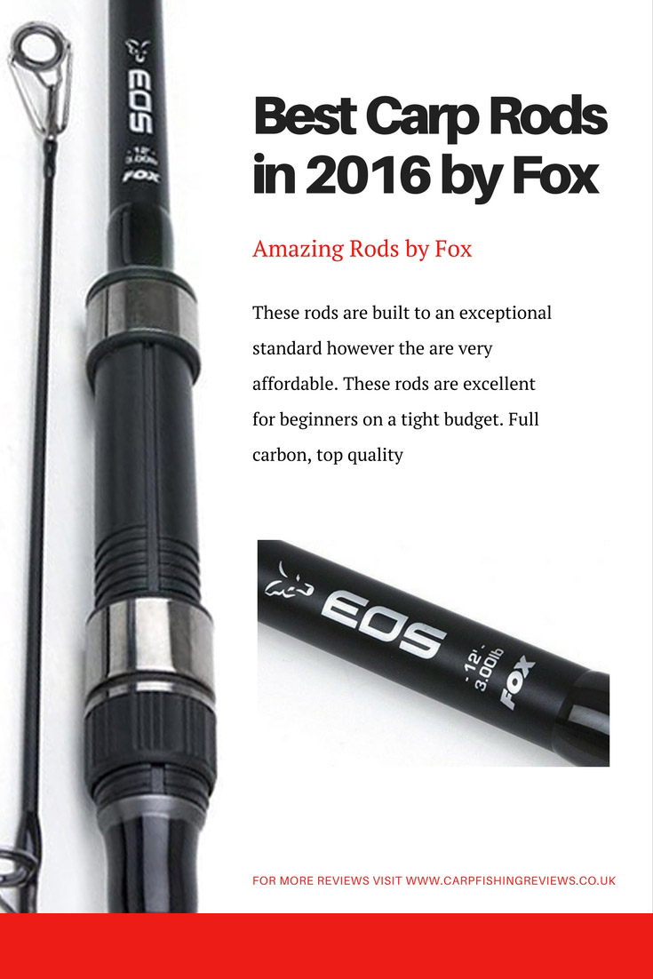 FOX EOS 12ft Carp Rod